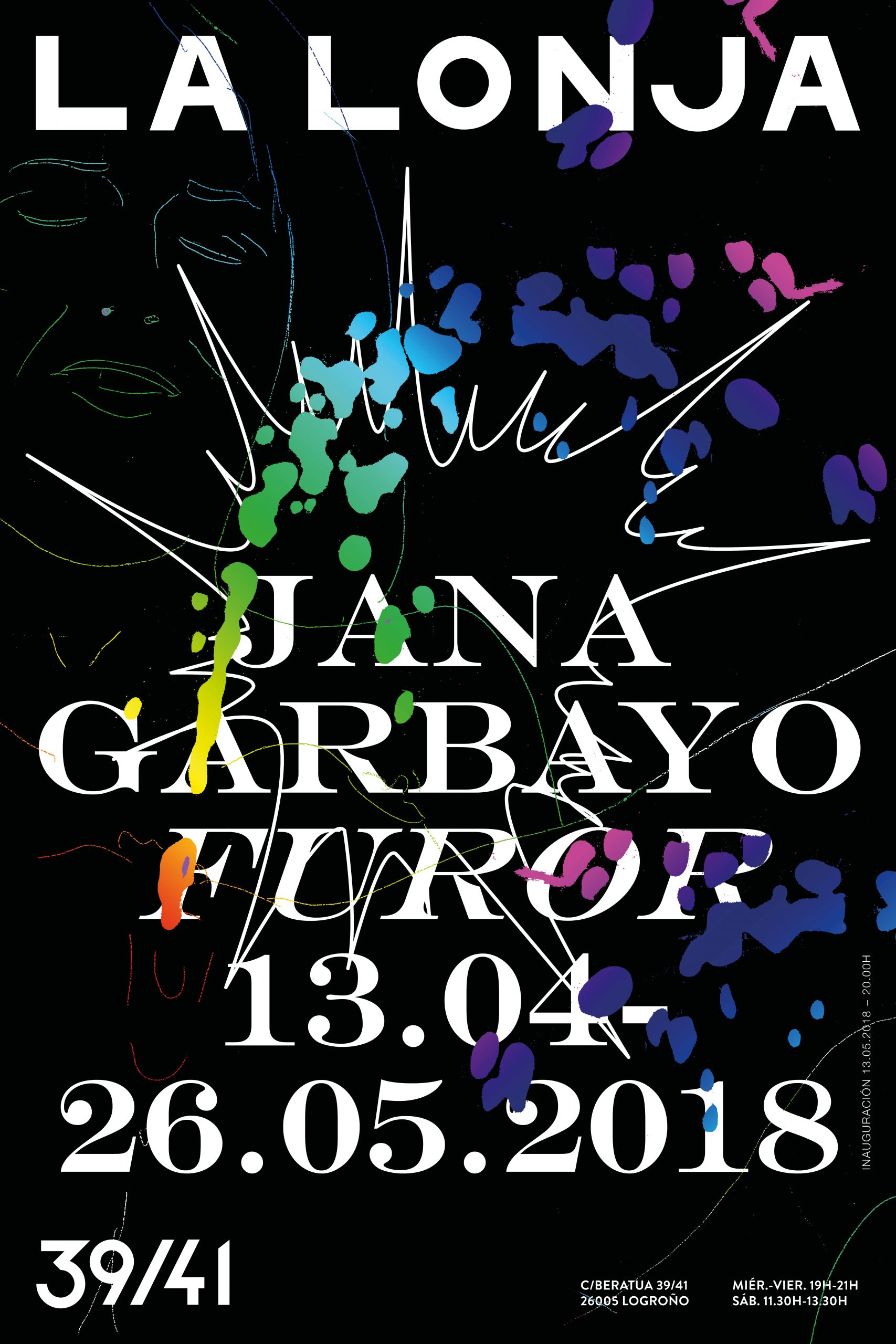 FUROR / JANA GARBAYO 13.ABR.- 26.MAY.2018