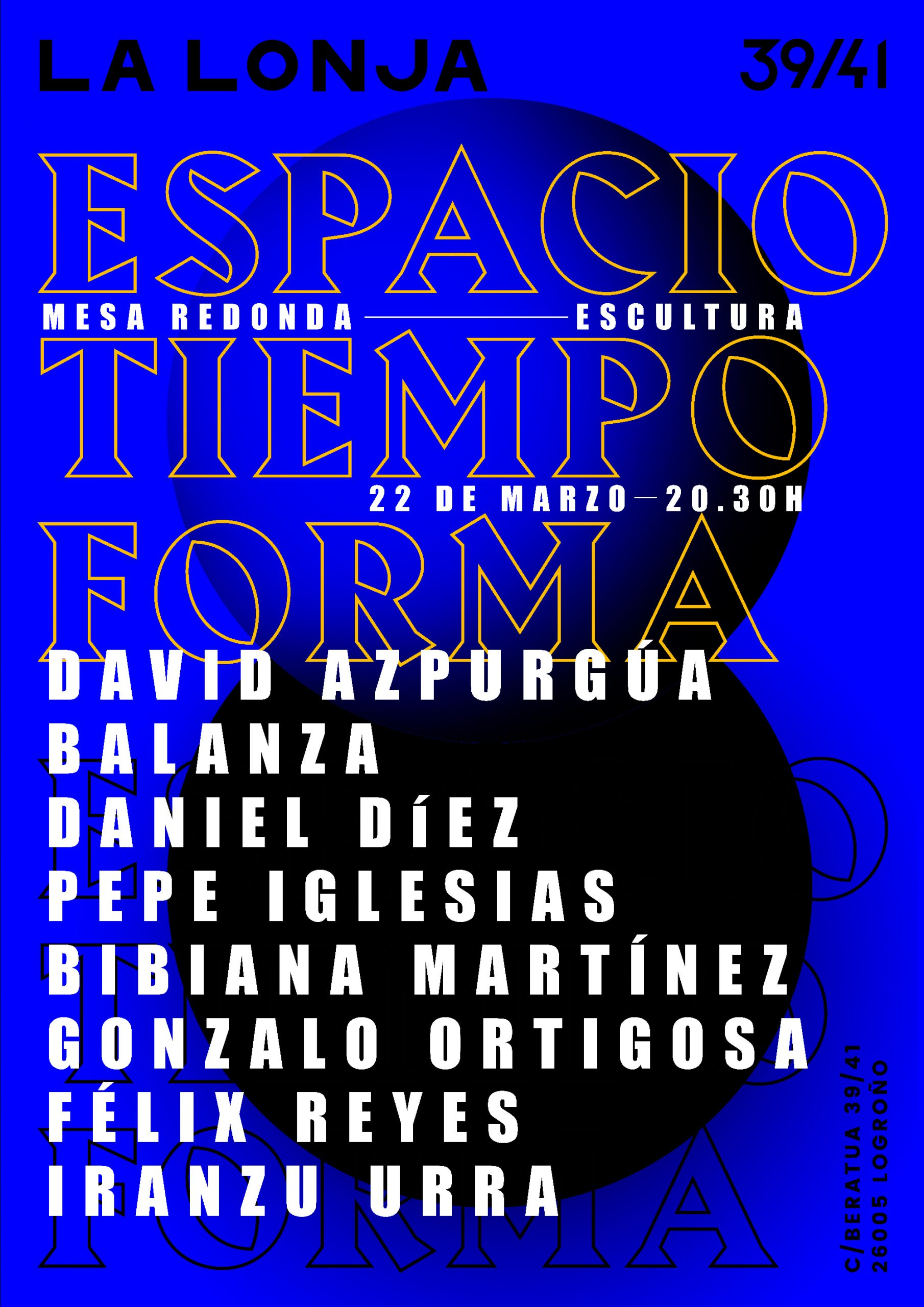 ESPACIO TIEMPO Y FORMA / 22. MAR. 2018