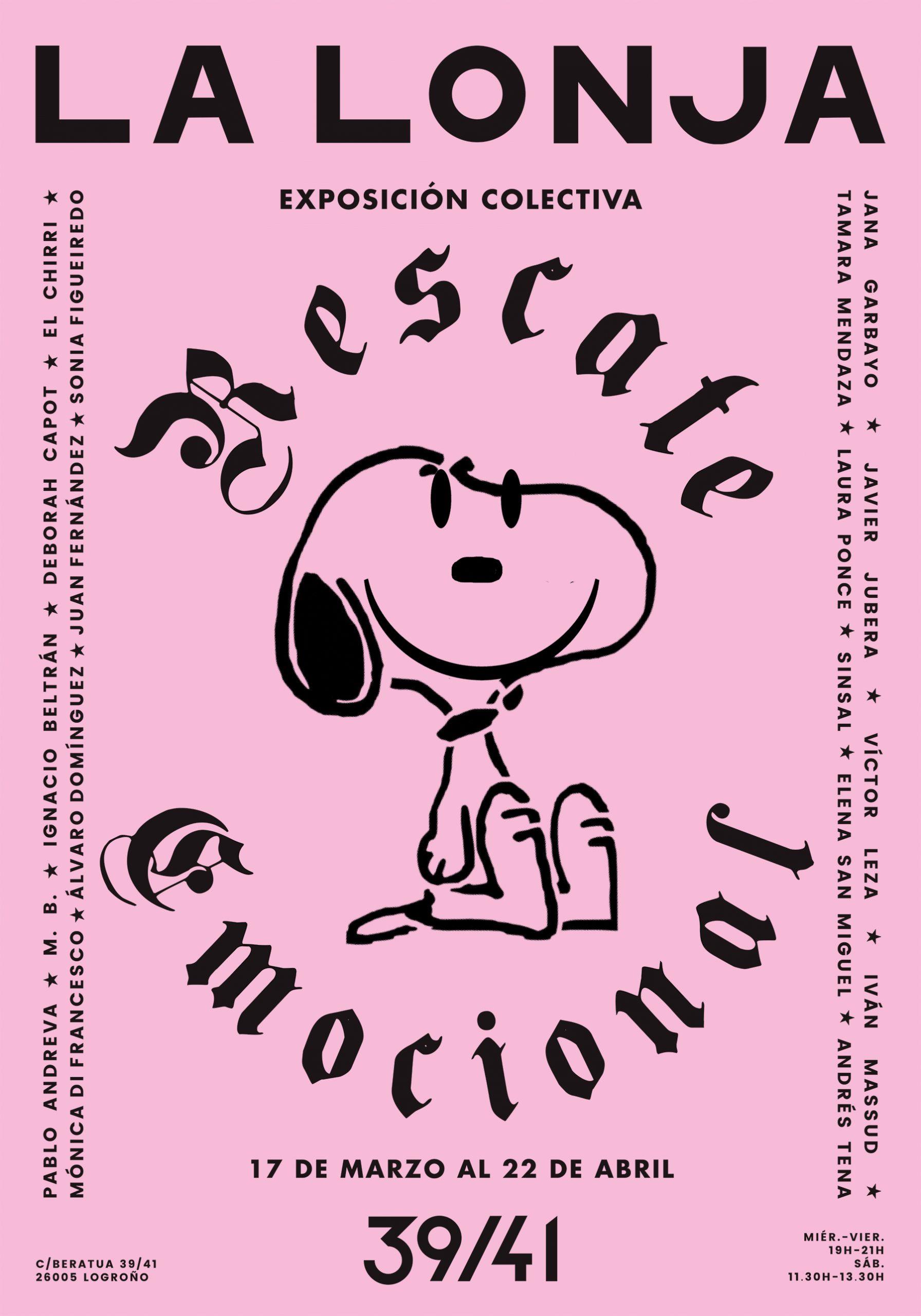 RESCATE EMOCIONAL / COLECTIVA 17.MAR.- 22.ABR.2018